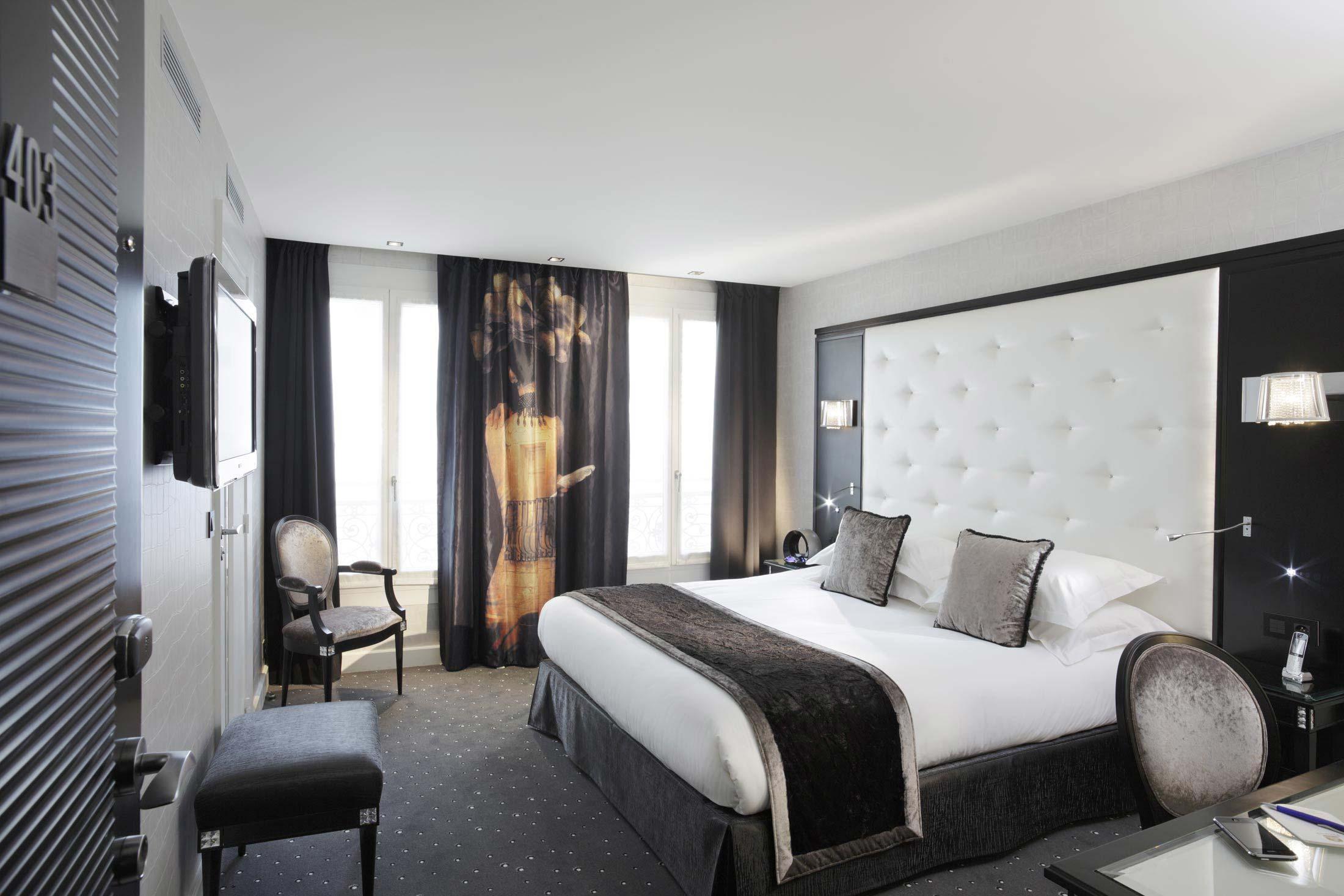 Beautiful Chambre Luxe Paris Contemporary - Design Trends 2017 ...